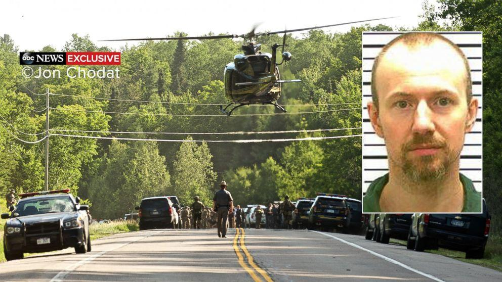 David Sweat Claims He Was Almost Caught Twice During 3-Week Manhunt