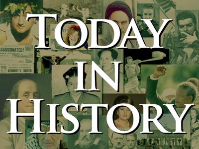 Today in History for October 17th