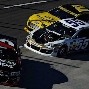 Kahne, Vickers in a Martinsville dust up