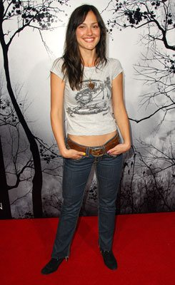 Minka Kelly at the Hollywood premiere of TriStar Pictures' Premonition