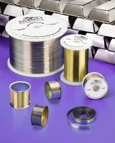 Anomet Composite Clad Metal Wire Saves up to 90% Over Solid Precious Metal