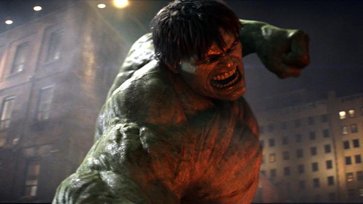 Incredible Hulk Production 2008 Universal Marvel