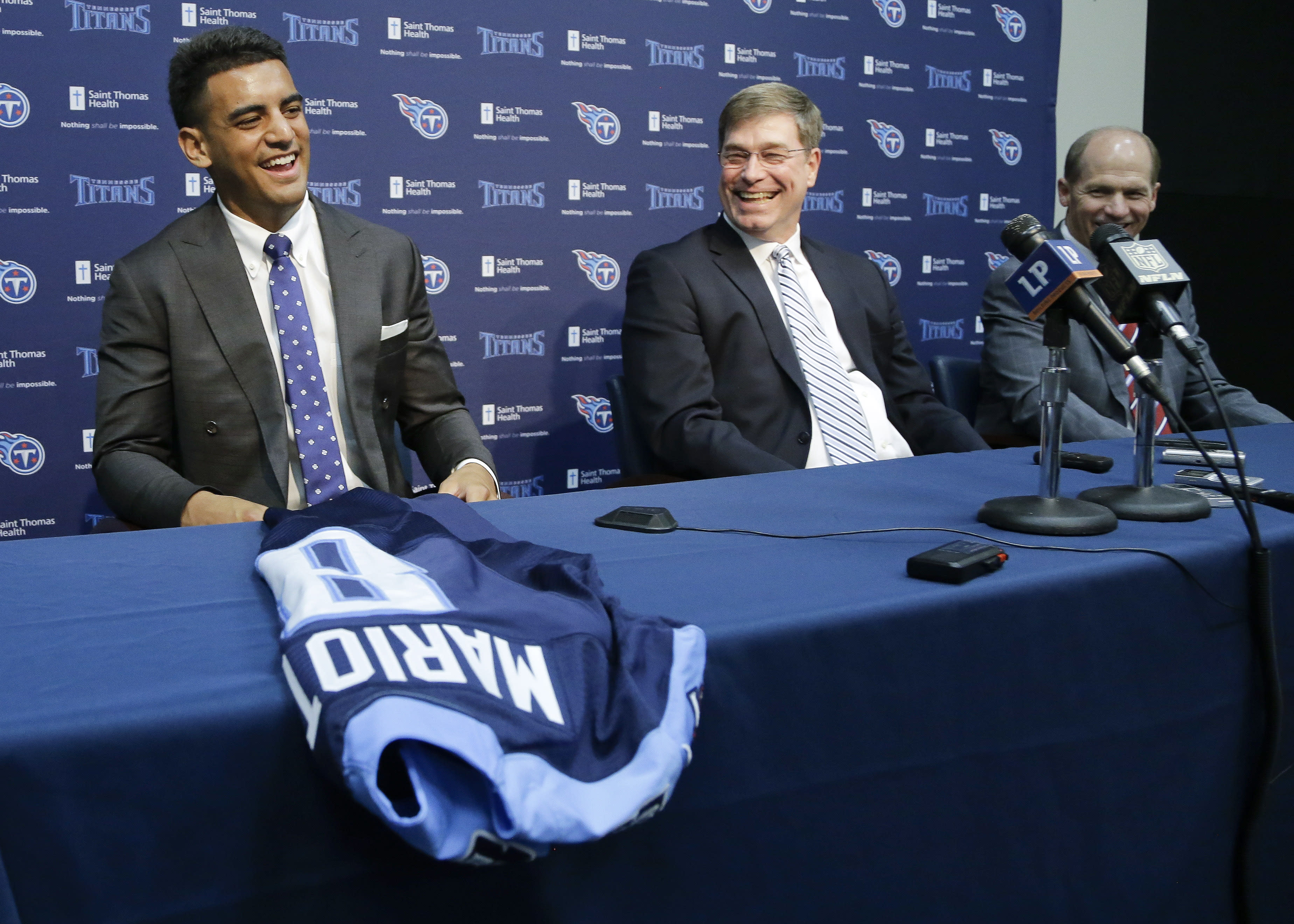 Titans use 7 of 9 draft picks trying to fix woeful offense