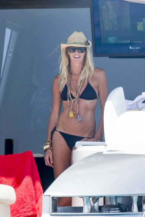 Elle MacPherson de vacaciones