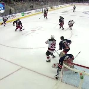 Henrik Lundqvist Save on Tim Sestito (12:16/1st)