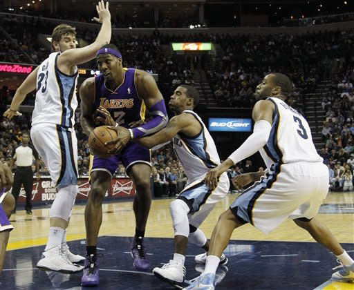 Grizzlies' NBA's best again, beat Lakers 106-98