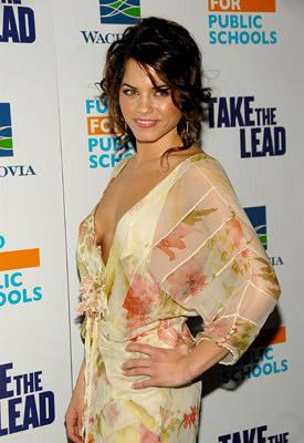 Jenna Dewan at the NY premiere of New Line Cinema's Take the Lead