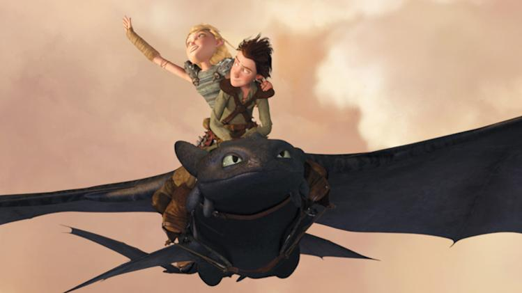 How to Train Your Dragon Dreamworks 2010