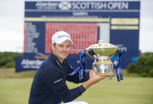 Justin Rose has the look of a favorite at the upcoming major. (AP)
