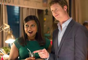 Mindy Kaling, Anders Holm | Photo Credits: Beth Dubber/FOX