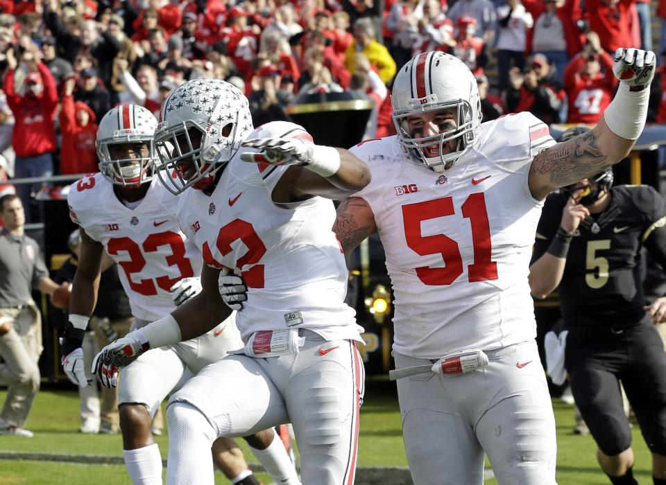 Ohio State, Michigan State in control of Big Ten