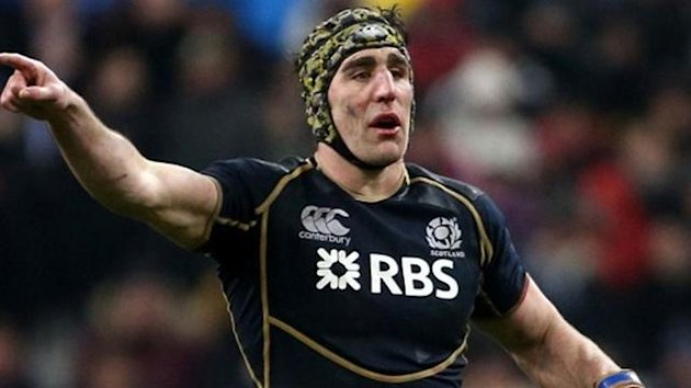 Scotland captain Kelly Brown