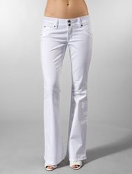 Hudson White Denim $165