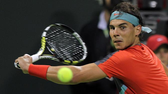 Nadal reaches Doha semis against qualifier