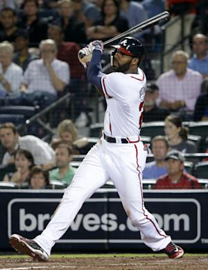 Heyward, Braves agree to $13.3M, 2-year contract