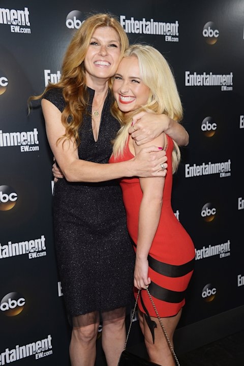Connie Britton and Hayden …