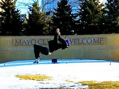 Backflips Help Cancer Survivor Move Forward