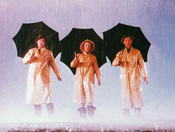 Gene Kelly , Debbie Reynolds and Donald O'Connor in MGM's Singin' in the Rain