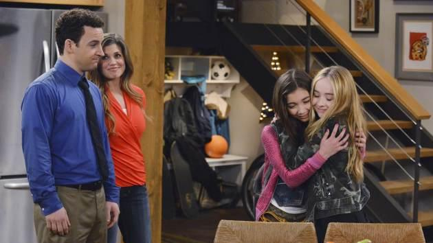 'Girl Meets World' - Ben Savage, Danielle Fishel, Rowan Blanchard, Sabrina Carpenter -- Disney Channel