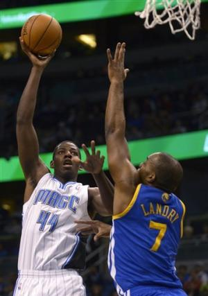 Magic hit 9 3-pointers, hold off Warriors 99-85