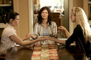 Ginnifer Goodwin, Jeanne Tripplehorn and Chloe Sevigny HBO's 'Big Love'