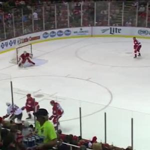 Jimmy Howard Save on Kyle Turris (10:58/2nd)