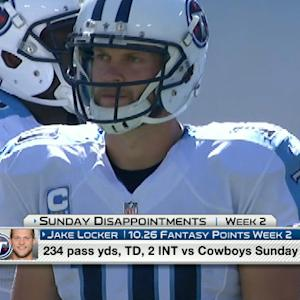 'NFL Fantasy LIVE': Sunday Fantasy Disappointments
