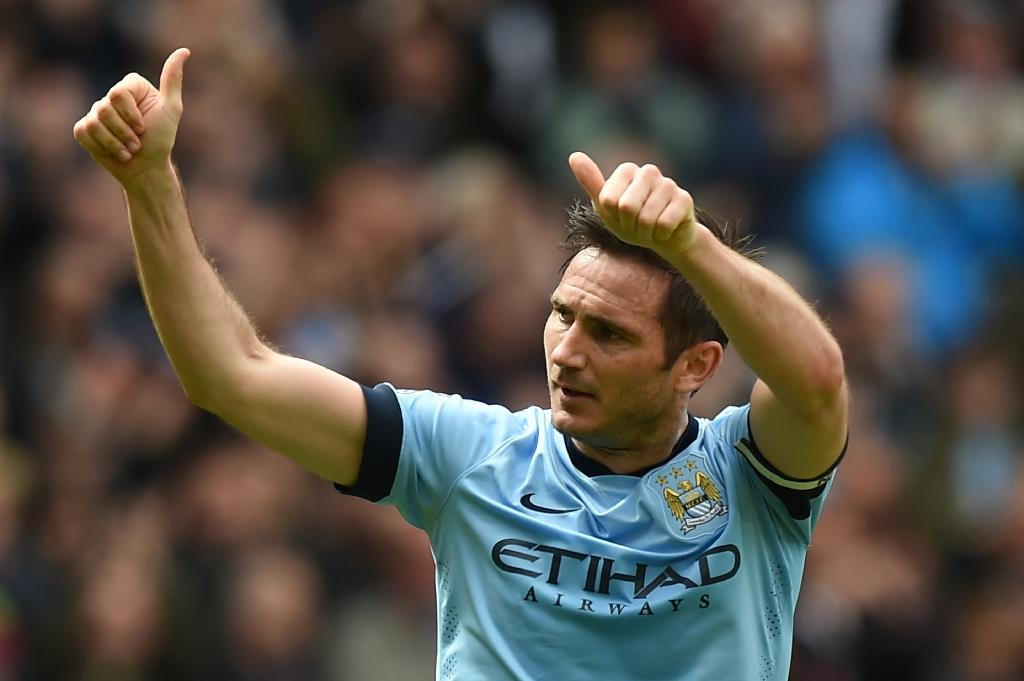 Lampard says stylish farewell to City