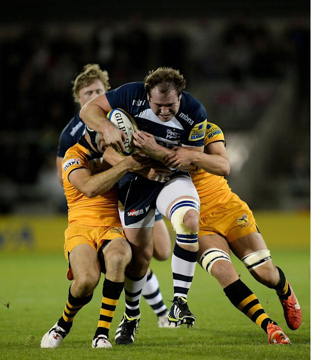 Rugby Union - Aviva Premierhip - Sale Sharks v London Wasps - AJ Bell Stadium
