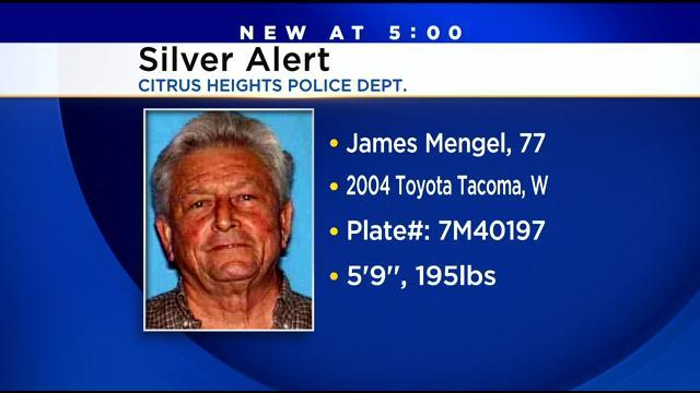 Police Searching For Missing Citrus Heights Senior