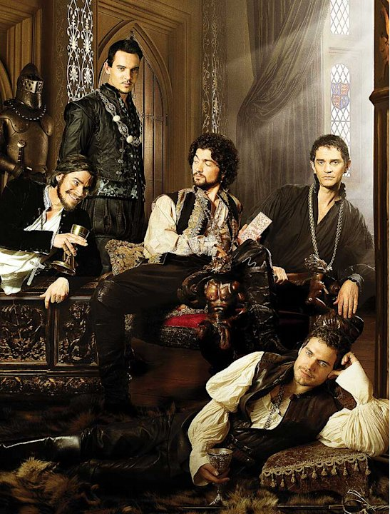 Hans Matheson as Thomas Cranmer, Jonathan Rhys Meyers stars as Henry VIII , David Alpay as Mark Smeaton , James Frain stars as Thomas Cromwell , and Henry Cavill stars as Charles Brandon in The Tudors