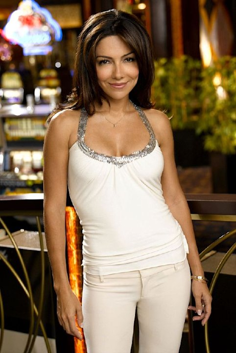 "Vanessa Marcil  as Samantha ""Sam"" Jane Marquez on NBC's Las Vegas."