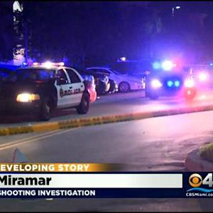Miramar Police Investigating Sunday Night Shooting