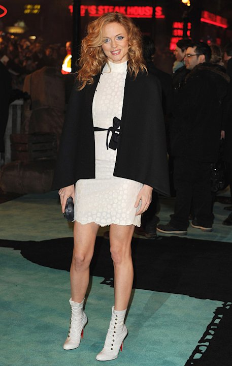 Sherlock Holmes UK Premiere 2009 Heather Graham