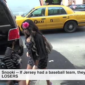 Snooki -- If Jersey Had A Baseball Team, They'd Be THE LOSERS