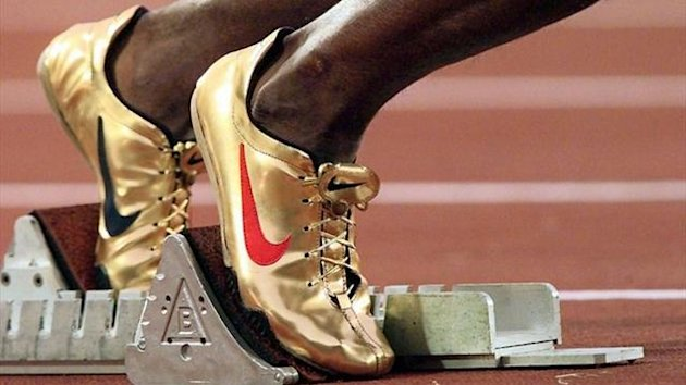 Michael Johnson's golden spikes, Atlanta 1996