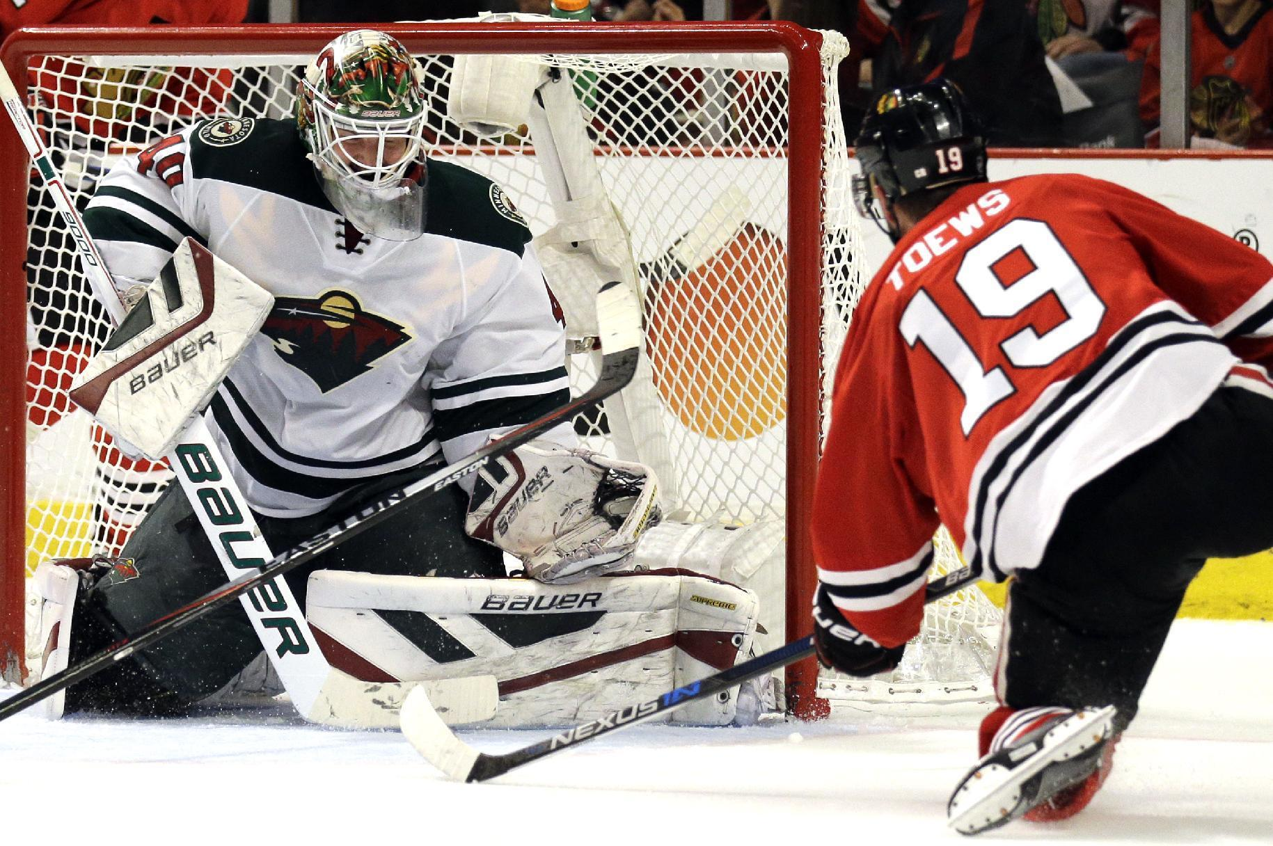 Usual suspects give Chicago a 2-0 series lead on Minnesota