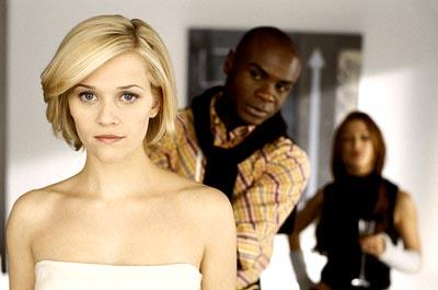 Reese Witherspoon and Nathan Lee Graham in Touchstone's Sweet Home Alabama