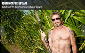 Is John McAfee About to Come Clean?