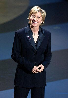 Host Ellen DeGeneres 53rd Annual Emmy Awards - 11/4/2001
