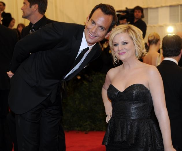 Will Arnett and Amy Poehler attend the Costume Institute Benefit at The Metropolitan Museum of Art, New York City, May 7, 2012  -- Getty Premium