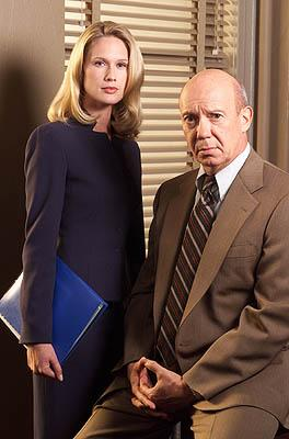 "Stephanie March as Assistant D.A. Alexandra Cabot and Dann Florek as Captain Donald Cragen NBC's""Law and Order: Special Victims Unit"" <a href=""/baselineshow/4728792"">Law & Order: Special Victims Unit</a>"