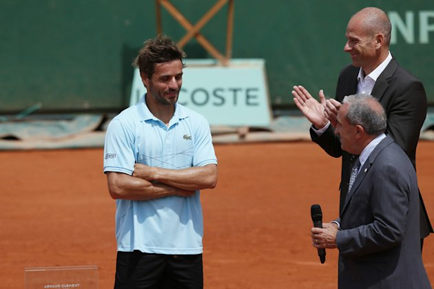 (FILES) A File Picture Taken On May 31, 2012 In Paris, At The Roland Garros Stadium In Paris, Shows President Of French  AFP/Getty Images