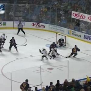 Jhonas Enroth Save on David Krejci (00:42/2nd)