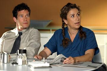 "Dylan Walsh and Roma Maffia FX's <a href=""/baselineshow/4656577"">Nip/Tuck</a>"
