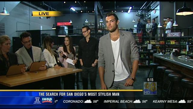 The search for San Diego's most stylish man