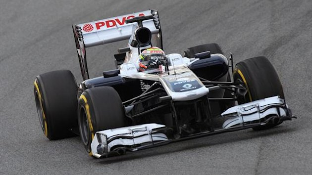 2013 Tests Montmelo Williams Maldonado