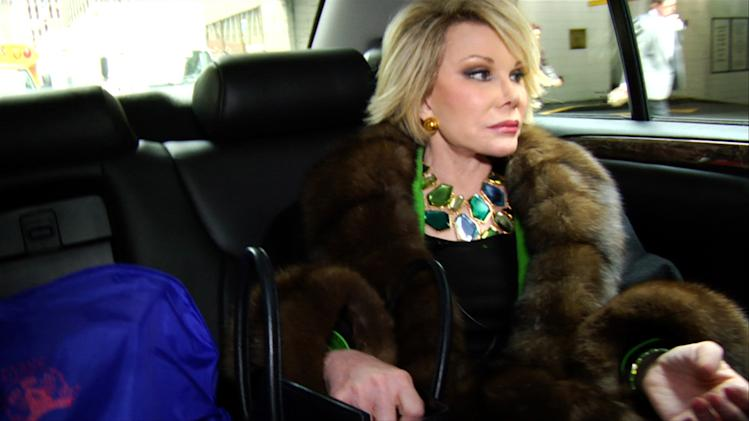Joan Rivers Joan Rivers: A Piece of Work Production Stills IFC 2010