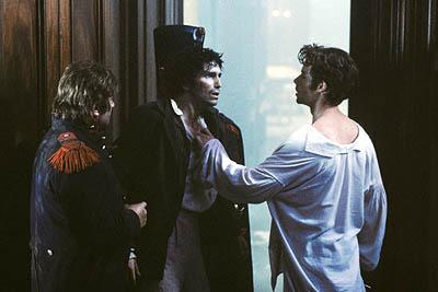 James Caviezel (center) and Guy Pearce (right) in Touchstone's The Count of Monte Cristo
