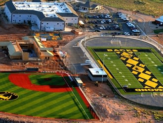 The Diamond Ranch athletic facilities are among Utah's best — Diamond Ranch Academy